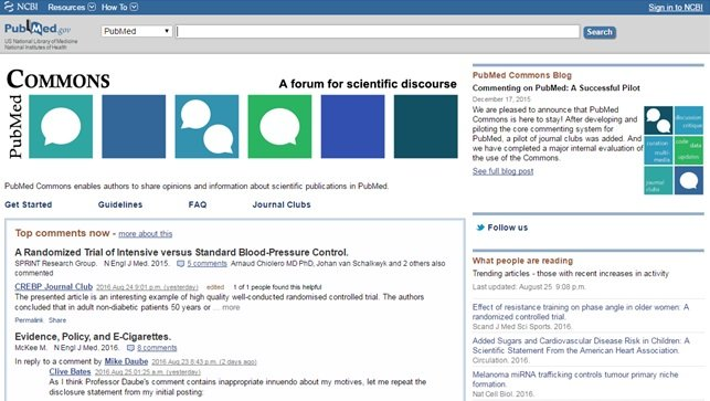 Post-publication peer review journals new peer review models pubmed